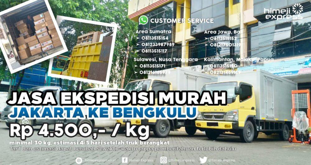 Jasa Ekspedisi Jakarta ke Bengkulu