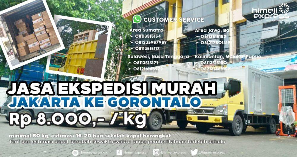 Jasa Ekspedisi Jakarta ke Gorontalo